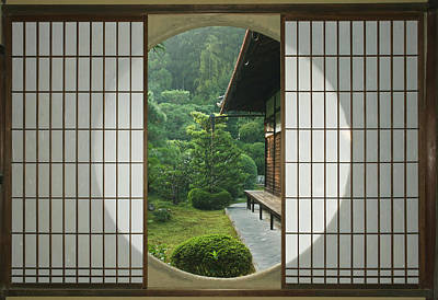 Asia, Japan, Kyoto, Sesshudera, Tea Poster by Rob Tilley