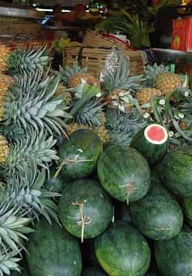 Asia, Vietnam Watermelons Poster