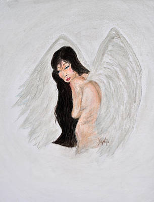 Asian Angel Poster by Danae McKillop