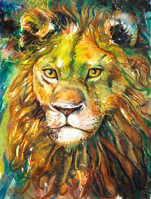 Aslan Poster by Patricia Allingham Carlson