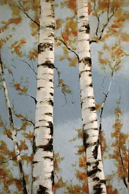 Aspen Autumn Poster by Richard Hinger