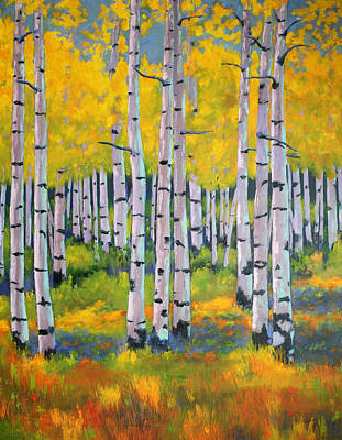 Aspen Color Poster by Nancy Jolley