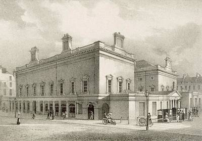 Assembly Rooms, Bath, Circa 1883 Poster