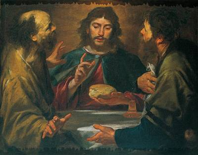 Assereto Gioacchino, The Supper Poster