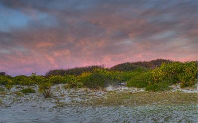 Asseteague Island Dune Sunrise Poster