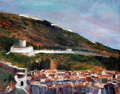 Assisi Hillside Poster