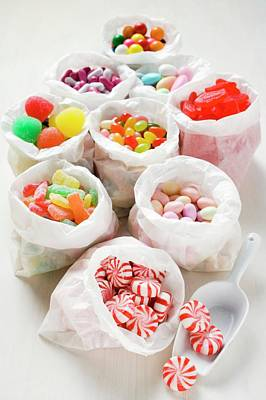Assorted Sweets In Paper Bags (usa) Poster