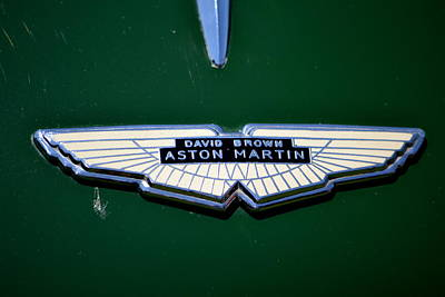 Aston Martin Badge Poster