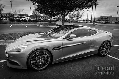 Aston Martin Vanquish V12 Trix Edition Poster by Robert Loe
