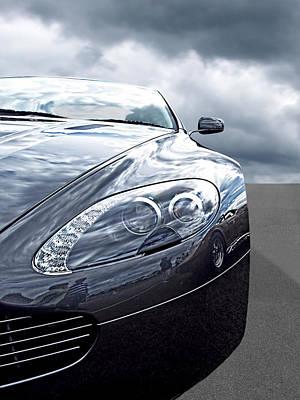 Aston Martin Vantage Detail Poster