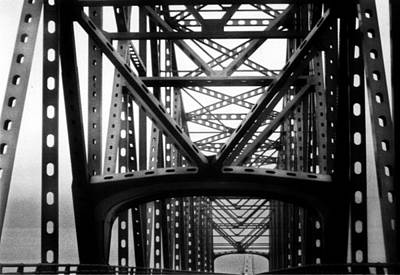 Poster featuring the photograph Astoria Bridge by Tarey Potter