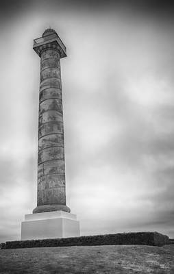 Poster featuring the photograph Astoria The Column by David Millenheft