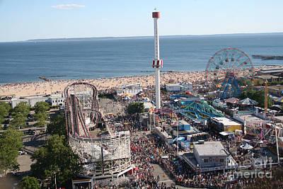 Astroland Coney Island Poster