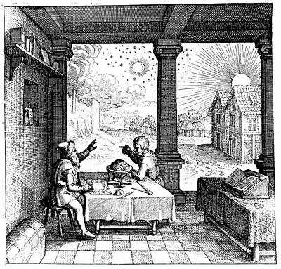 Astrologers Preparing A Horoscope Poster by Universal History Archive/uig