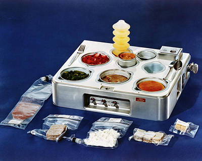 Astronaut Food Poster by Nasa