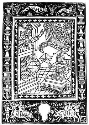 Astronomer, 1493 Poster