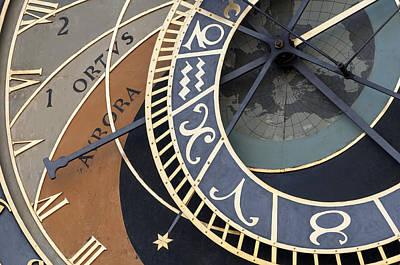 Astronomical Clock Of Prague. Poster