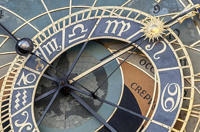 Astronomical Clockof Prague. Poster