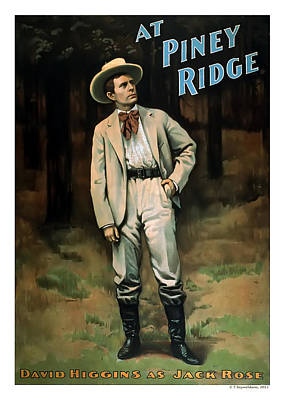 At Piney Ridge Poster by Terry Reynoldson
