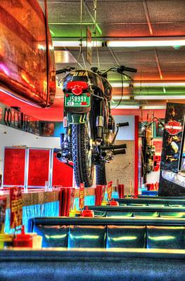 At The Diner 7 Poster by Diane Alexander