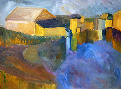 At The Harbor Poster