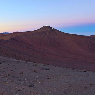 Atacama Desert And Paranal Observatory Poster