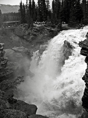 Athabasca Falls Poster by RicardMN Photography