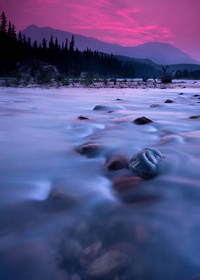 Athabasca Sunset Poster by Cale Best