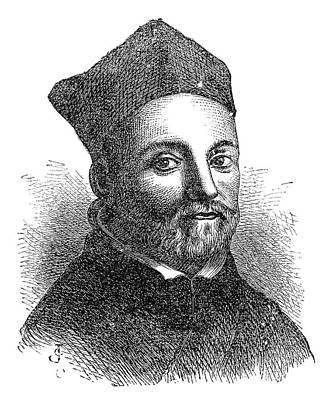Athanasius Kircher Poster by Science Photo Library