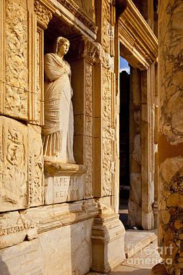 Athena At Ephesus Poster by Brian Jannsen