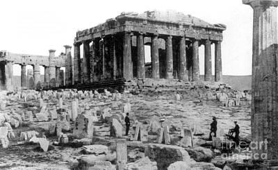 Athenian Acropolis, Parthenon, 1910 Poster by Science Source