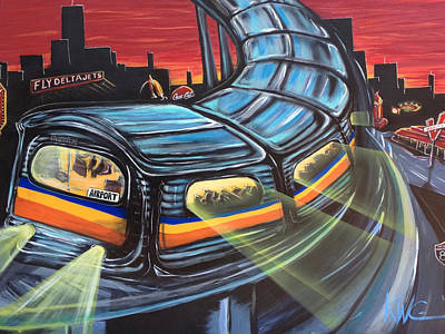 Atl Southbound  Poster by KWC Art