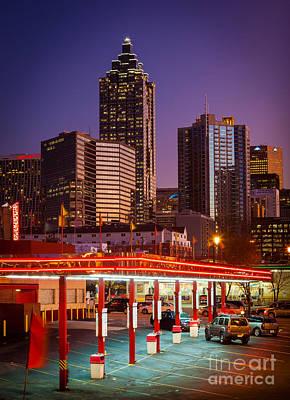 Atlanta Drive-in Poster by Inge Johnsson