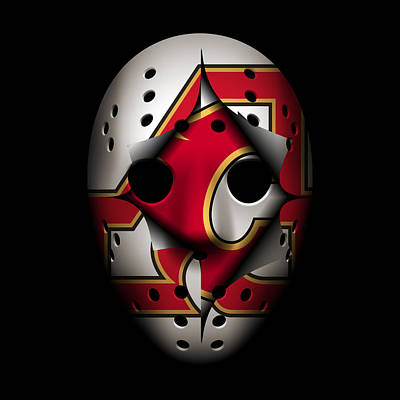 Atlanta Flames Become Calgary Flames Poster by Joe Hamilton