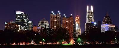 Atlanta Panoramic From Piedmont Park Poster