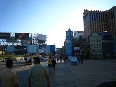 Atlantic City - Boardwalk - 01139 Poster by DC Photographer