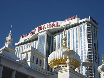 Atlantic City - Trump Taj Mahal Casino - 12122 Poster