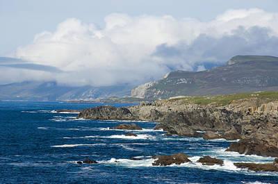 Atlantic Coast Achill Island Poster by Jane McIlroy