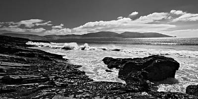 Poster featuring the photograph Atlantic Coast / Donegal by Barry O Carroll