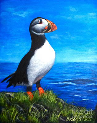 Atlantic Puffin 2 Poster