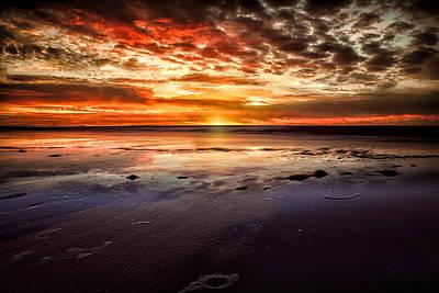 Atlantic Sunrise Poster by Joshua Minso