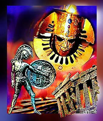 Atlantis - The Minoan Empire Has Fallen Poster