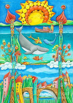 Atlantis Poster by Sonja Mengkowski