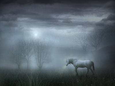 Atmospheric Night Poster by Jennifer Woodward