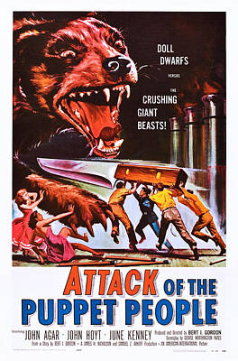 Attack Of The Puppet People, Us Poster Poster by Everett