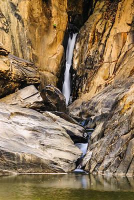 Attagar Falls In Western Ghats Poster by Vishwanath Bhat