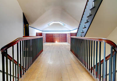 Attic Staircase Poster