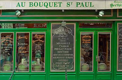 Au Bouquet St. Paul Poster