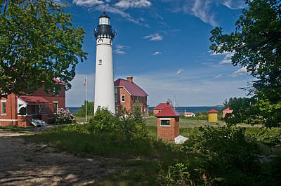 Au Sable Point Lighthouse  Poster