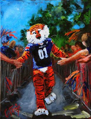 Aubie Tigerwalk Poster